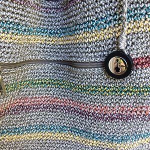 The Sak rainbow weave hobo tote bag.